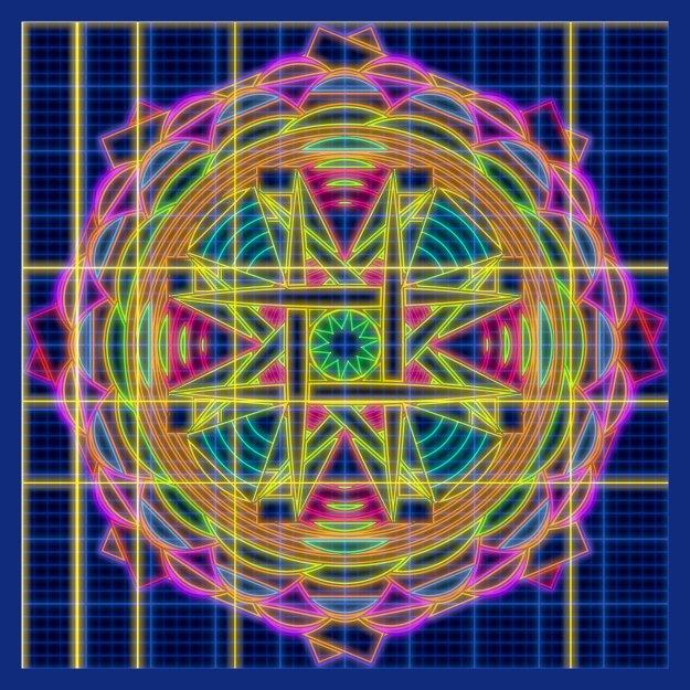 CAD Mandala