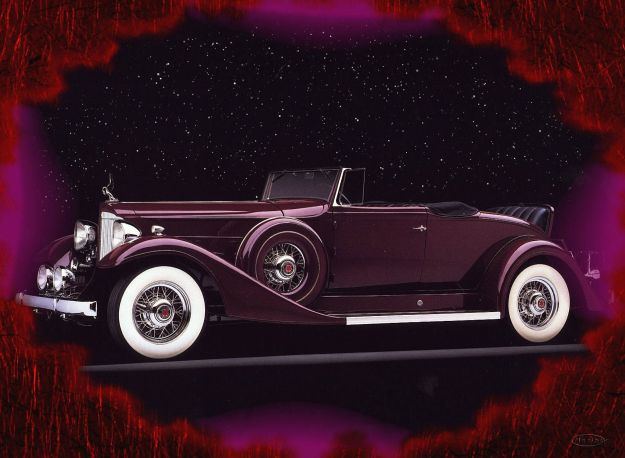 Packard Cnvertible 1933